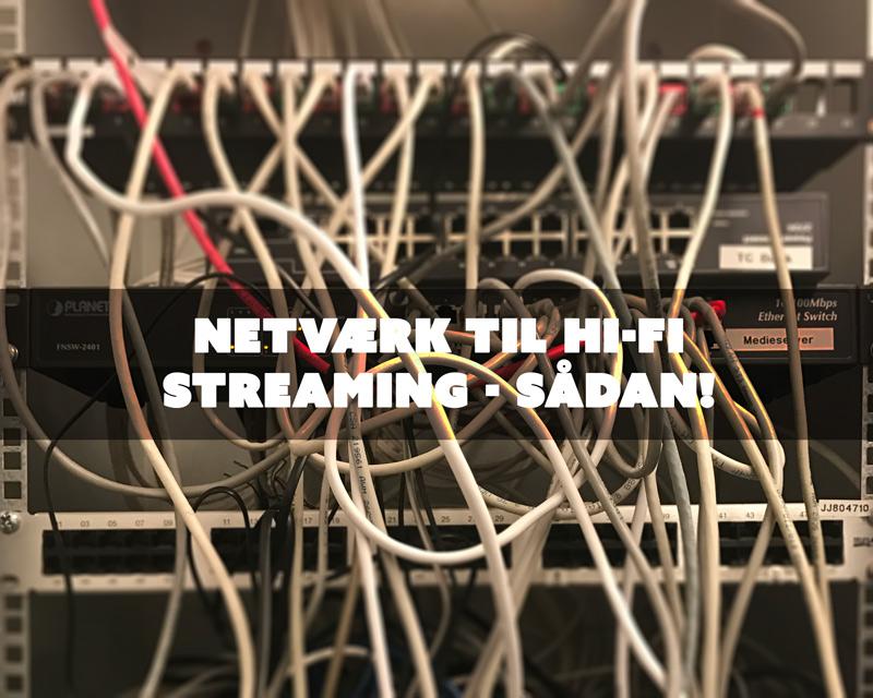 Netværk, kabler og router