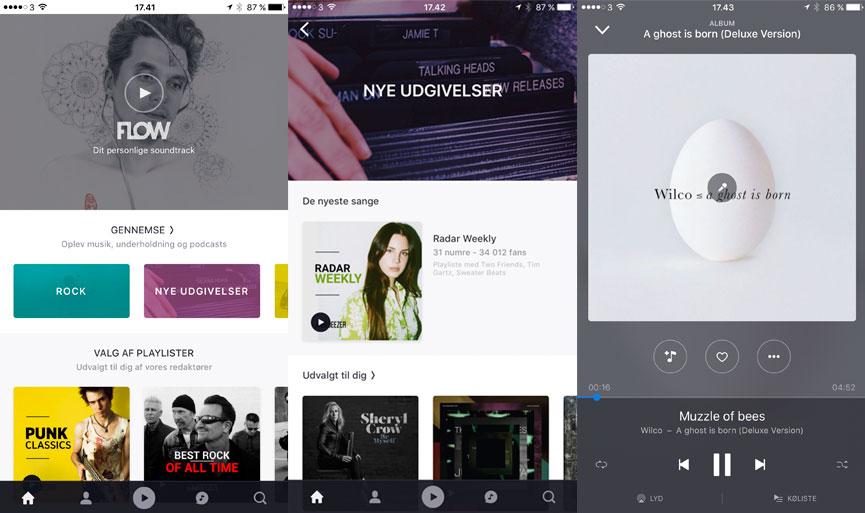 Deezers musik-streamingtjeneste