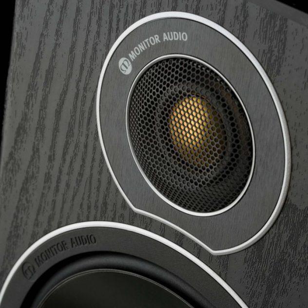 Monitor Audio Bronze med Gold Dome diskant