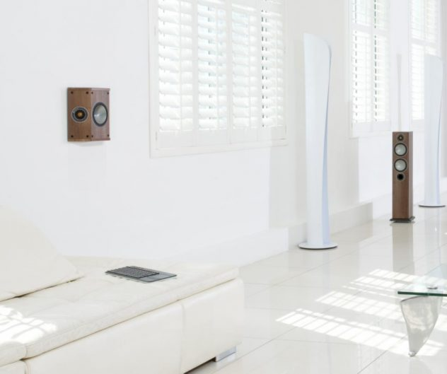 Baghøjttaleren i Monitor Audio Bronze serien, Bronze FX